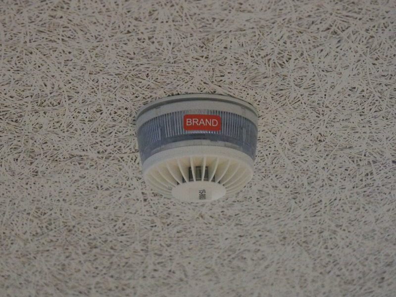 Sikring og adgangskontrol til skolebyggeri brandalarm
